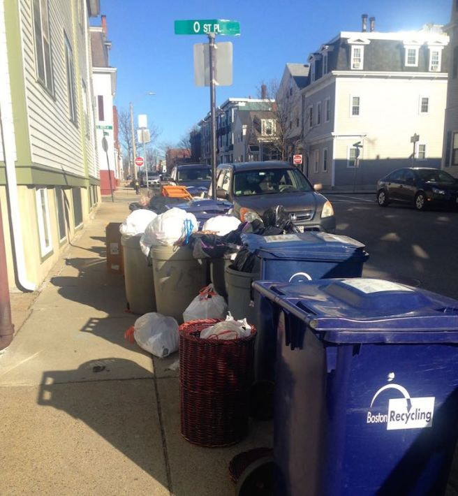 Trash Day Southie