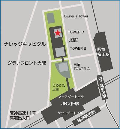 inpit-kansaiの地図