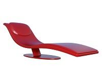 デザイン椅子のコンピュータグラフィックス