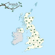 Image of 'Branch homes' around the UK