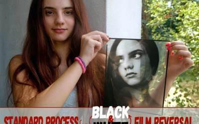 Standard process for black & white film reversal