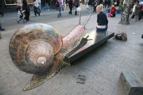 JulianBeever - arte strada 3D