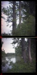Riverspective - Matteo Albertin, Diptic, Lomo Camera, negative color film