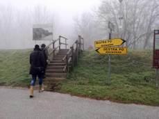 escursione tra le nebbie di destra e di sinistra