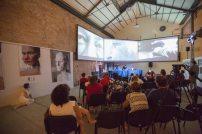 installazione audiovisiva a cura di MATTATOIO 5 e Samuela Barbieri
