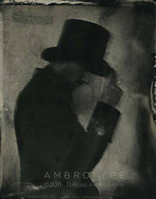 Ambrotipo - Collodion Party - Branco Ottico