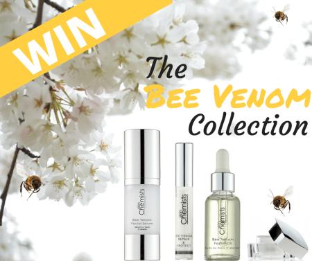 Skin Chemist: Bee Venom Giveaway!