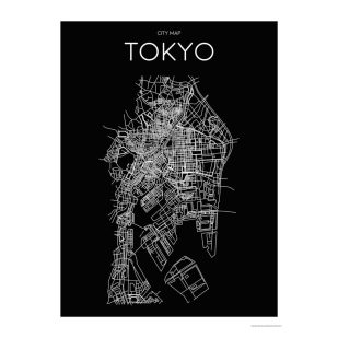 Habitat Tokyo Map