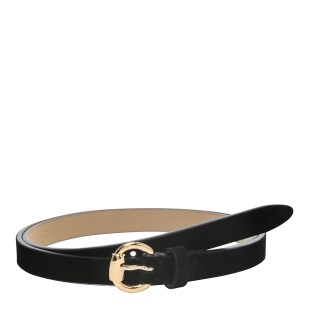 Women's Skinny Black Suede Belt party outfit ideas