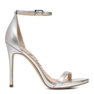 Sam Edelman Soft Silver Ariella Ankle Strap Sandals party shoes