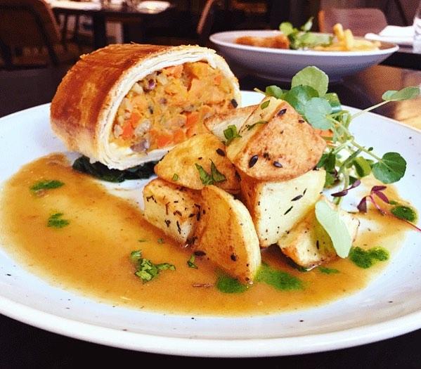 Roast Dinner At the Gate restaurant