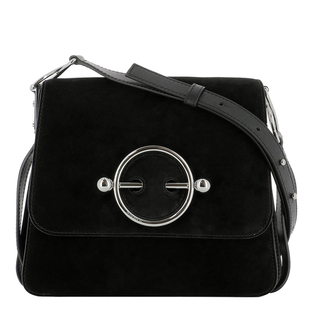 JW ANDERSON Black Disc Bag