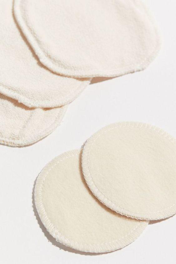 reusable cotton pads, eco-friendly makeup removal