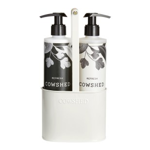 Cowshed hand wash and hand cream duo