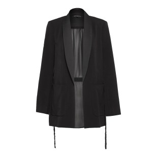 French connection Black Ines Suiting Ls Jacket