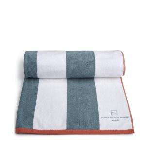 Miami house pool towel blue
