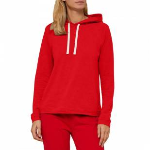 autumn fashion trends mango red hoodie