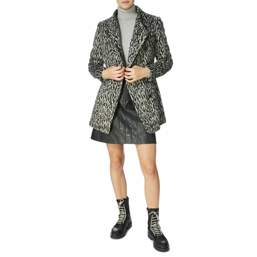 Black Friday coat, karen millen leopard print coats