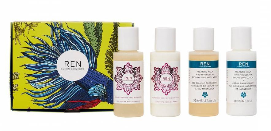 beauty essentials Ren Mini Body Set - £11.50