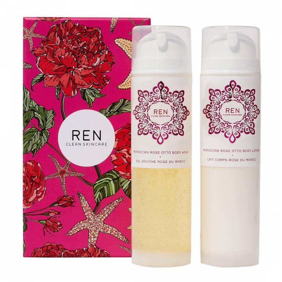 beauty essentials Ren Rose Body Duo Kit - £27.50