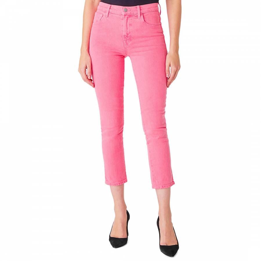 denim jeans Pink Ruby Cigarette Stretch Jeans - £55