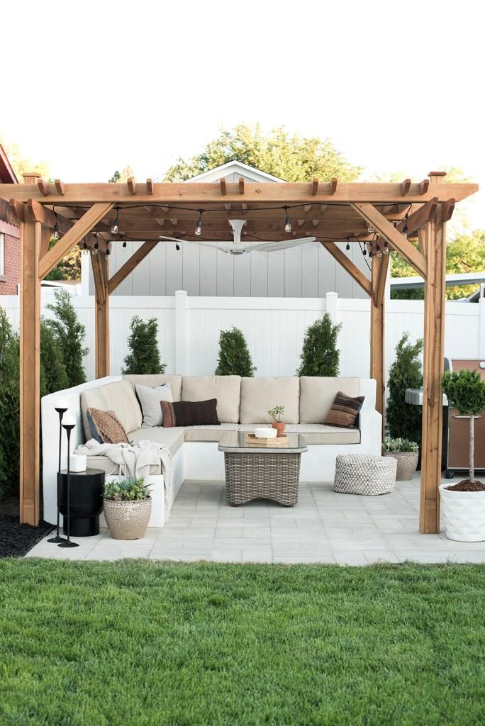 outdoor garden furniture pergola