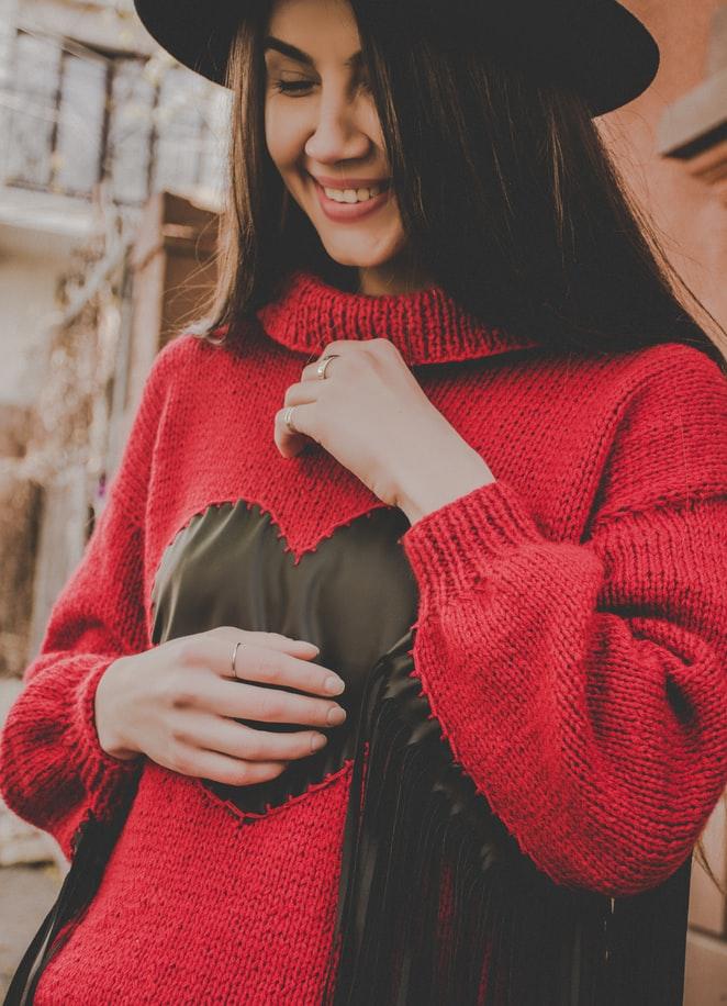 maternity style knitwear