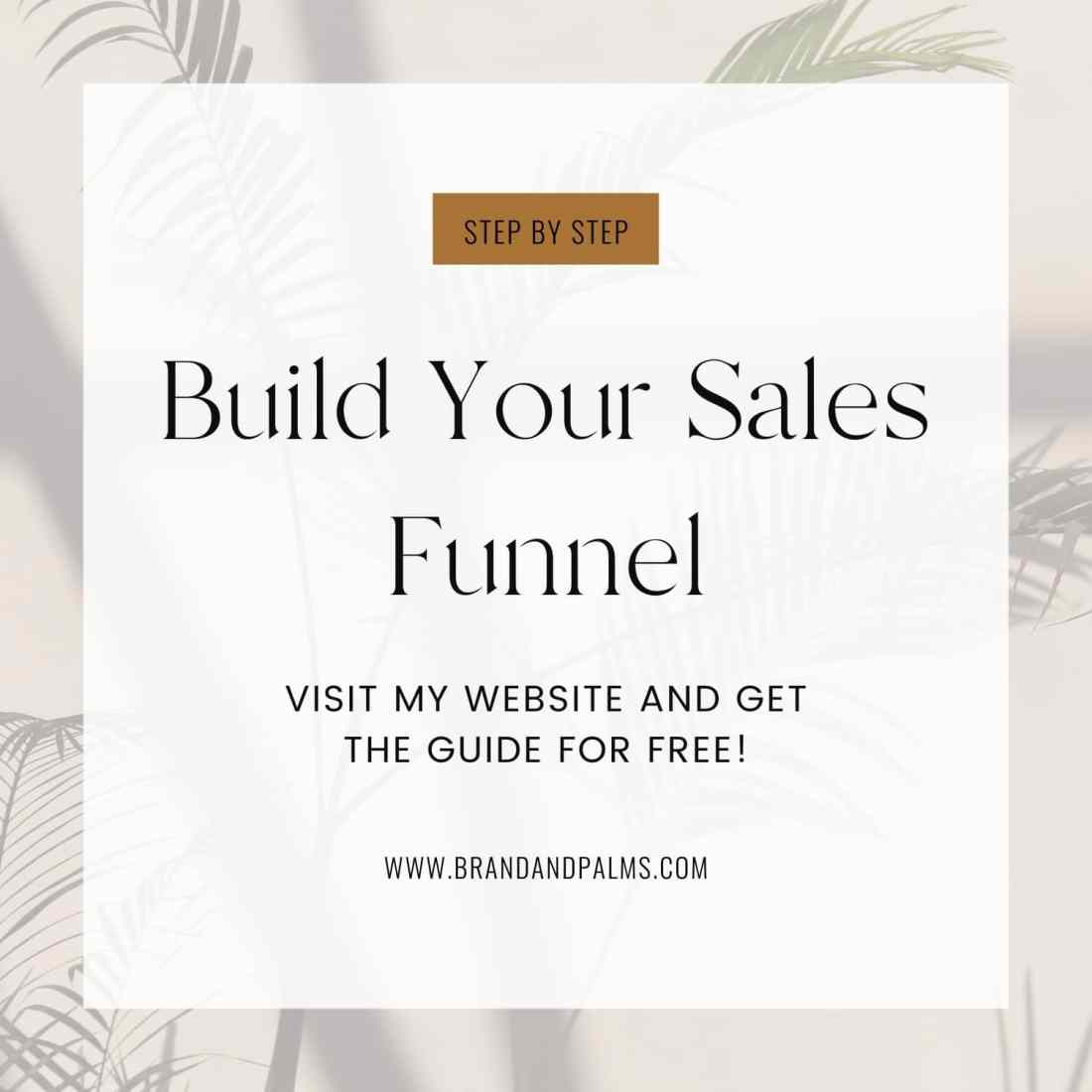 Free build your sales funnel guide