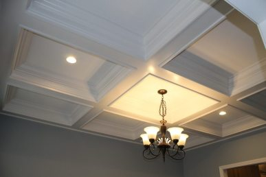 Custom Home Knox Tn Coffered Ceiling