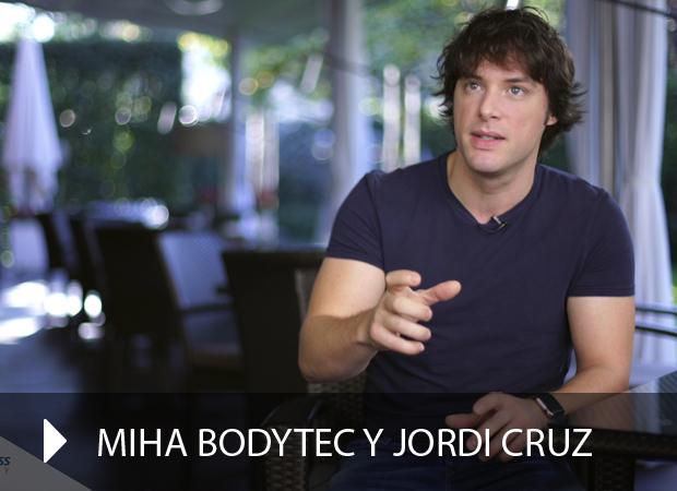 Colaboración Miha Bodytec y Jordi Cruz