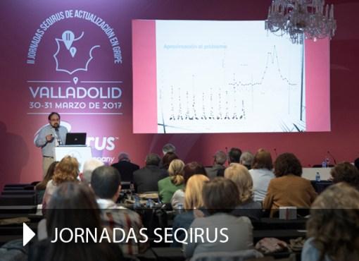 Producción gráfica Jornadas Seqirus