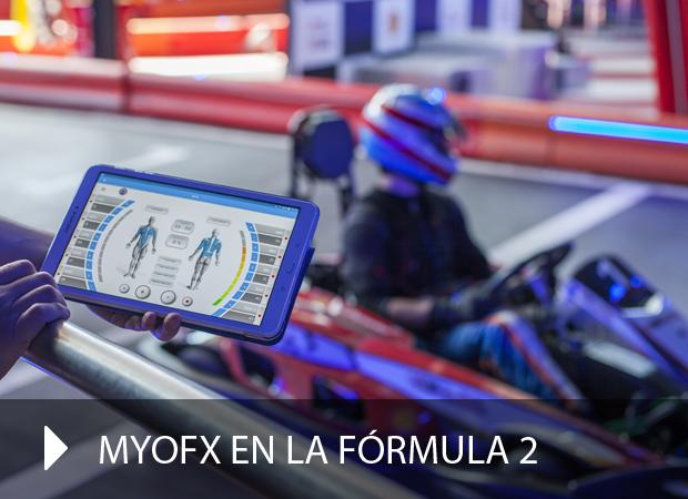 Publicidad Myofx en Fórmula2