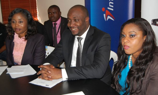 L-R: Divisional Head, Verve Business, Oluwatobi Boshoro, Director, Payment Solutions and Business Expansion, Charles Ifedi and Divisional Head, Marketing, Enyioma Anaba at the Verve National Consumer Promo draw in Lagos