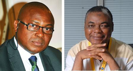 Emeka Okeke, Managing Director, Carat MP Nigeria, Bola Akingbade, CMO, MTN