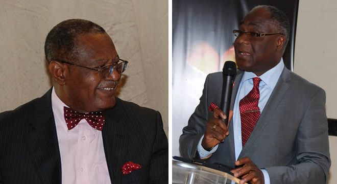 Sir Steve Omojafor, Chairman, STB-McCann group & Rufai Ldipo, Out-going AAAN President