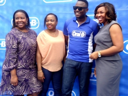 Ngozi Coker, Brand Communication, P&G, Titilola Adetunji, Brand Operations Integration, Manager P&G, Mokutima Ajileye, Brand Operations Integration Manager, P&G and Dr. Sid, Nigeria Hoip Hop Artist.