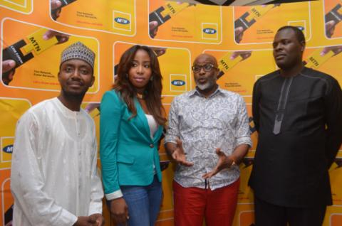 Aminu Sanni, Manager, Progressive Segment, MTN; Joyce Jacob, CEO, Joyce Jacob Beauty (JJB); Olusola Lanre, Chief Catalyst and CEO, IMC Consulting; Chude Jideonwo, Publisher, Y magazine