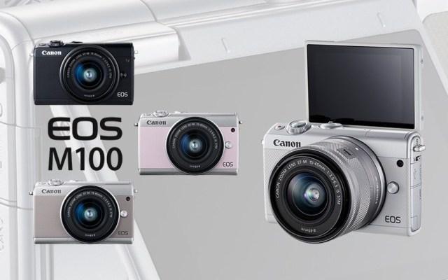 Canon M100 Mirrorless Camera