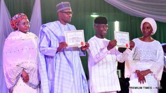 INEC Certificate of return