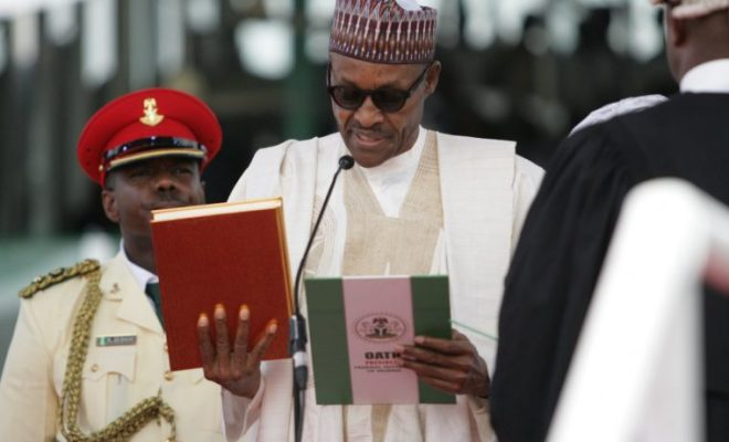PMB Second Term Oath