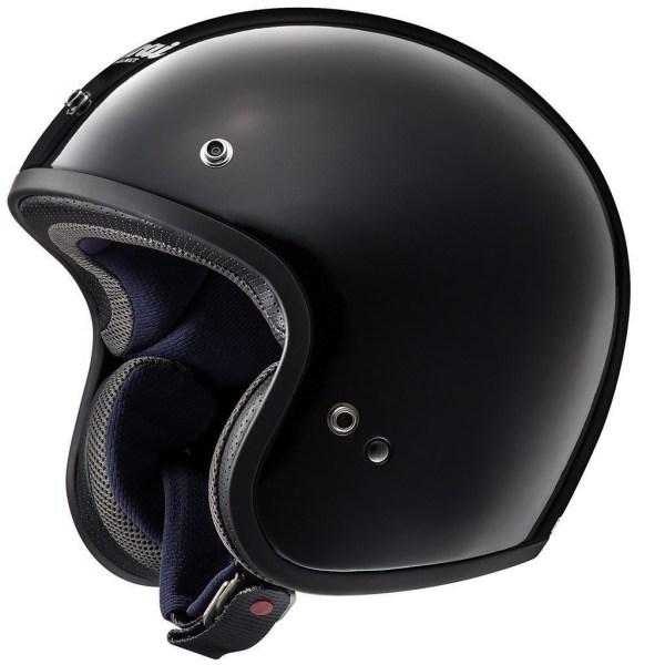 Arai Freeway Classic Open Face Motorcycle Helmet Gloss Black