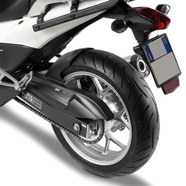 Givi Mg1109 Motorcycle Mudguard Honda Nc750x 16 On Black