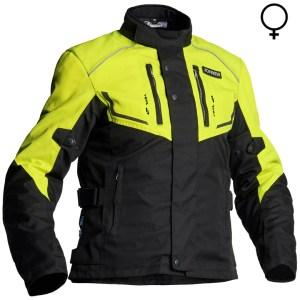 Jofama Neptune Lady Textile Motorcycle Jacket Black Yellow
