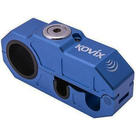 Kovix Alarmed Front Brake Lever Lock Blue