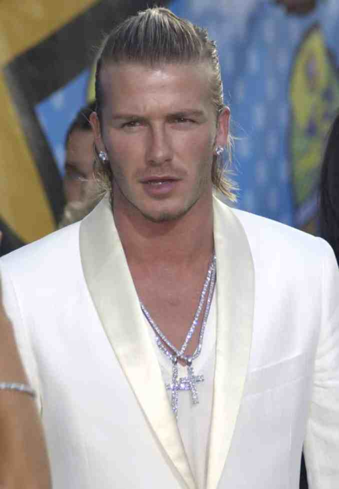 david beckham hairstyles-20 most famous hairstyles of all