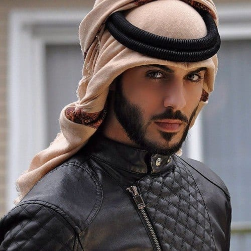 handsome-Omar-Borkan-500x500 10 Most Handsome Arab Men in the World - Hottest Arab Guys
