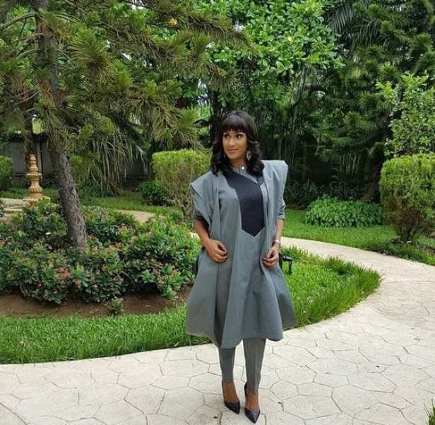 Sokoto-with-Agbada-Dresses Agbada Outfits for Women - 20 Ways to Wear Agbada in Style