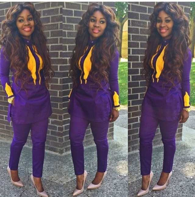 Striking-Agbadas-for-Parties Agbada Outfits for Women - 20 Ways to Wear Agbada in Style