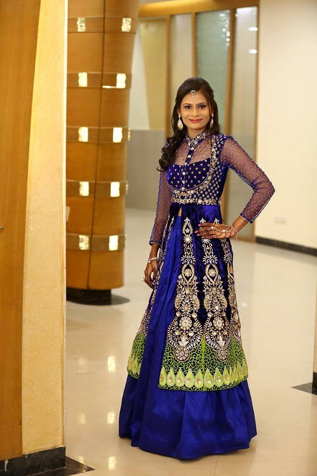 Celebrities Blue Dresses
