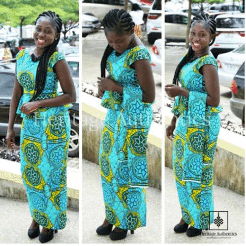 funeral kaba styles in ghana
